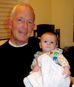 My first grandson Jackson